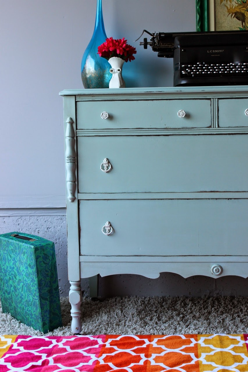 http://re-tiqued.blogspot.ca/2014/05/minty-antique-dresser.html