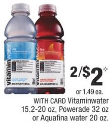 Vitaminwater cvs deal
