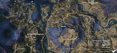 Far Cry 5, Shrines Locations, Faith's Region, Angel's Peak, Shrine # 3