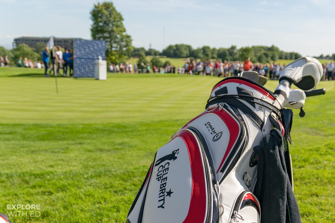 The Celebrity Cup Golf Bag