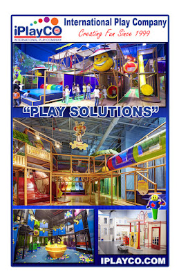 IAAPA AAE Iplayco playground equipment softplay