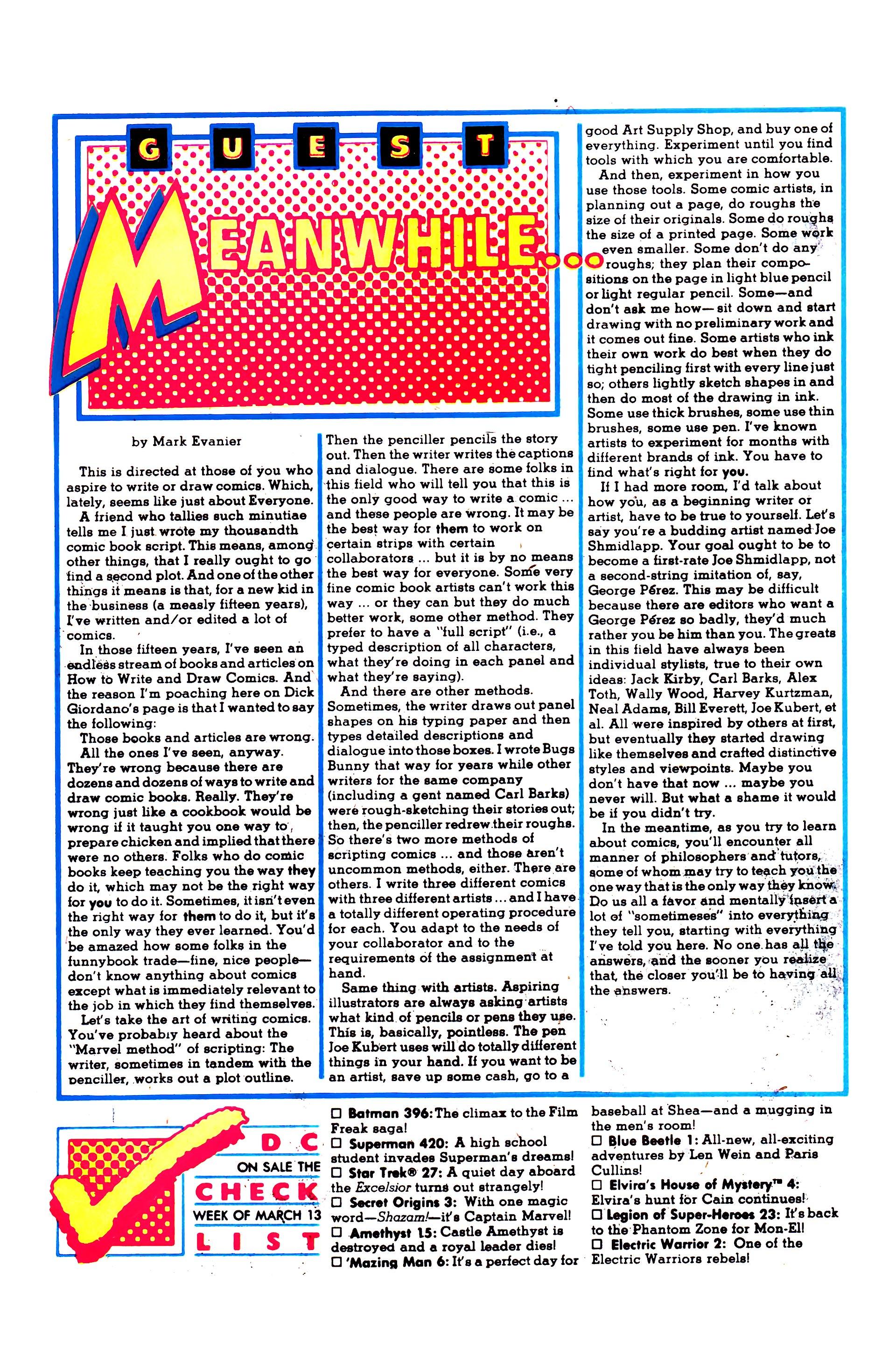 Read online Secret Origins (1986) comic -  Issue #3 - 30