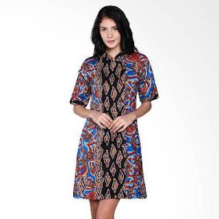 Contoh Model Baju Batik Kerja Formal