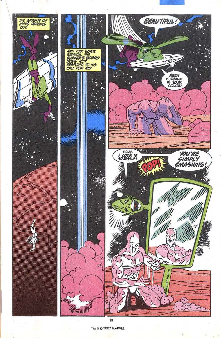 Read online Silver Surfer (1987) comic -  Issue #36 - 17