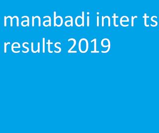 inter result 2019 manabadi