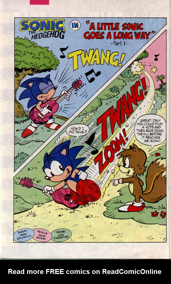 Read online Sonic The Hedgehog comic -  Issue #8 - 14