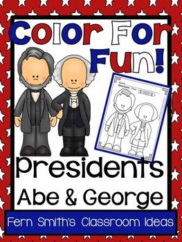 Presidents' Day ~ Abe and George