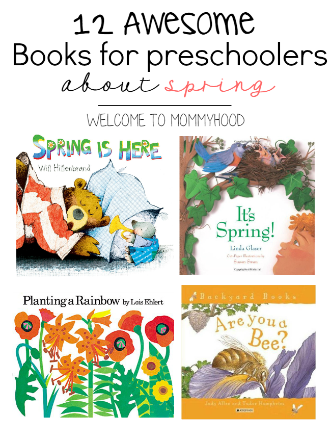 9 lovely spring books for preschoolers by Welcome to Mommyhood #springactivities, #springbooks, #springbooksforpreschoolers, #earlylearning, #homeschool, #preschool, #toddleractivities, #preschoolactivities