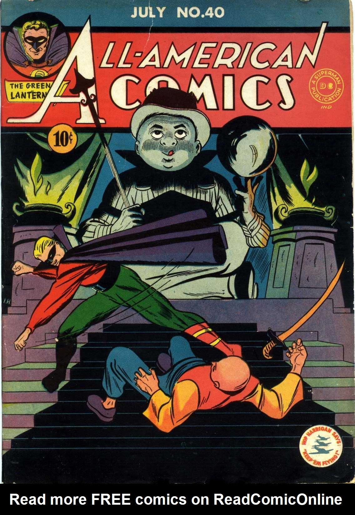 Read online All-American Comics (1939) comic -  Issue #40 - 1