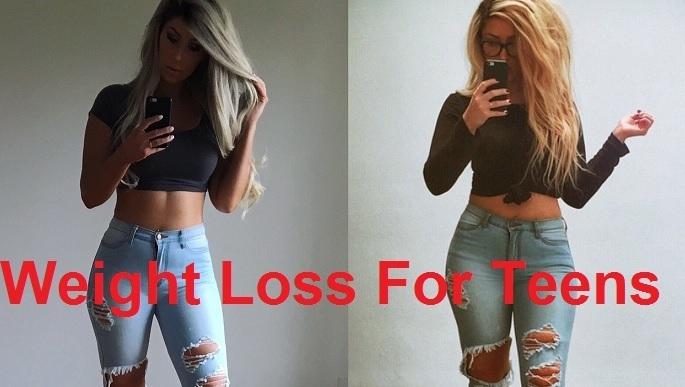 Weight loss foe teens