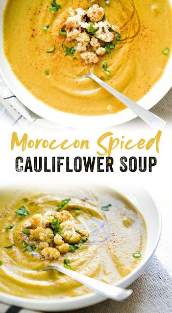 Cauliflower Soup with Moroccan Spices