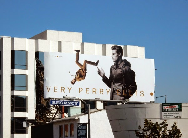 Very Perry Ellis Spring 2015 billboard Sunset Strip