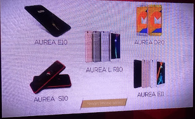 The Aurea smartphone series