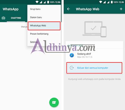 Cara Ampuh Mengatasi Whatsapp Web Logout Sendiri