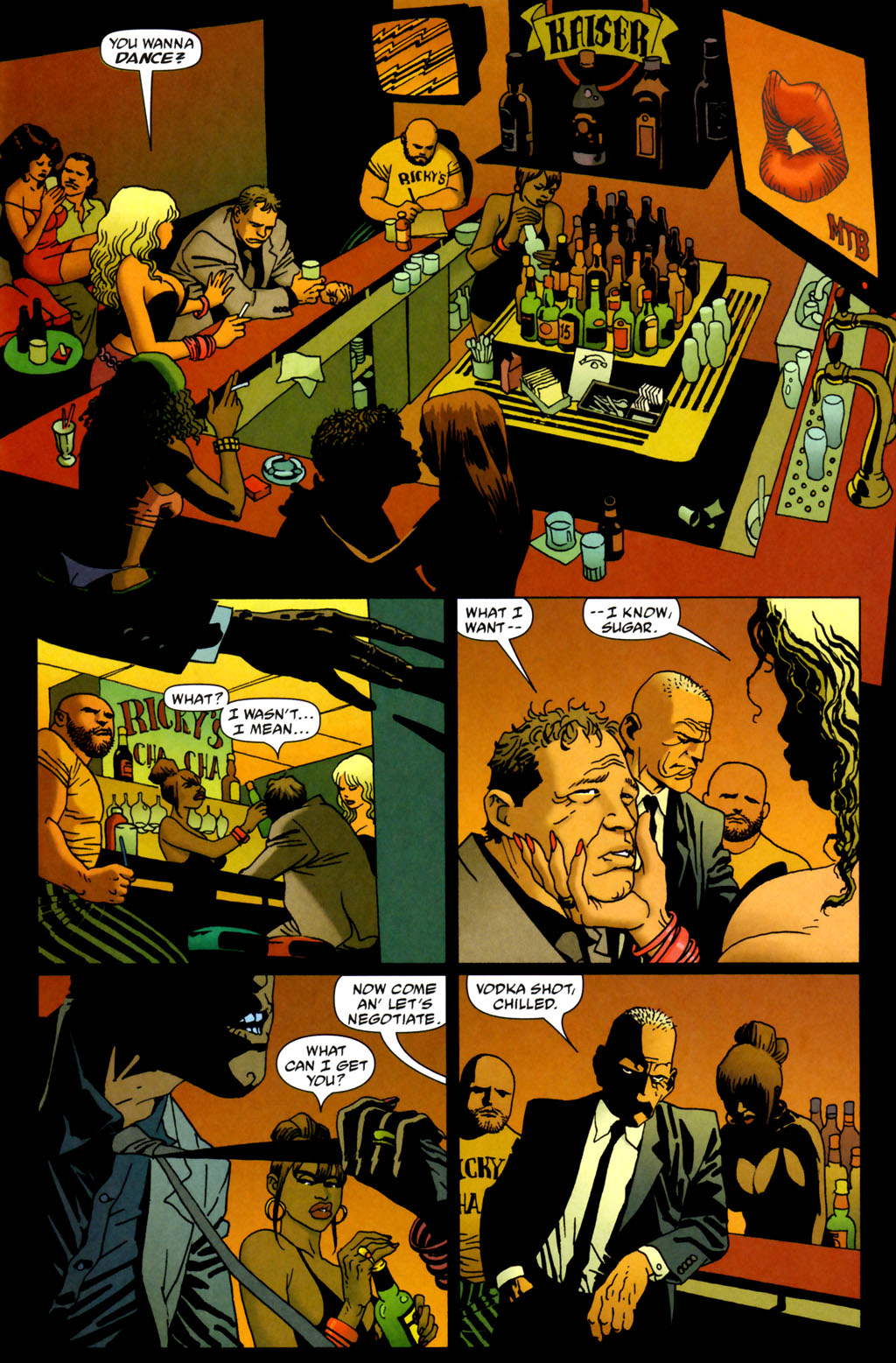 Read online 100 Bullets comic -  Issue #64 - 11