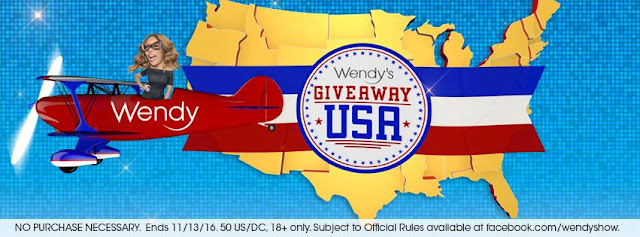 The Wendy Williams Show is celebrating America by giving fans a chance to enter daily to win a trip to a whole bunch of cities across the USA!