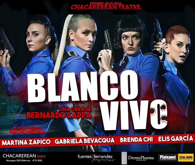 Teatro: Blanco vivo - Estreno