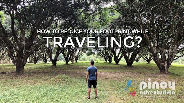 How to Reduce your Footprint While Traveling