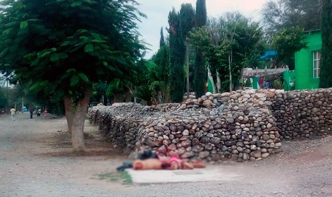 Fotografías, Zetas, grupo bravo deja descuartizado a Cabeza de Vaca en Guemez