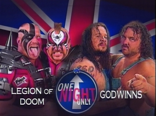 WWE / WWF - One Night Only 1997 Review -Legion of Doom vs. The Godwins