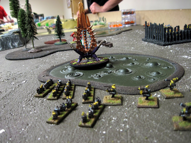 Chroma's Orks keep out of the Fart Swamp.