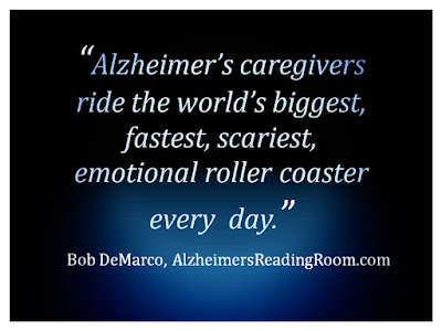 Caregiving is often like riding an emotional roller coaster.