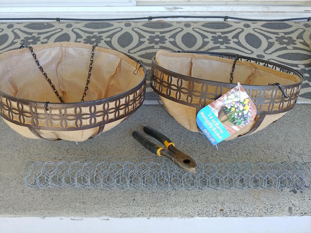 hanging planter baskets