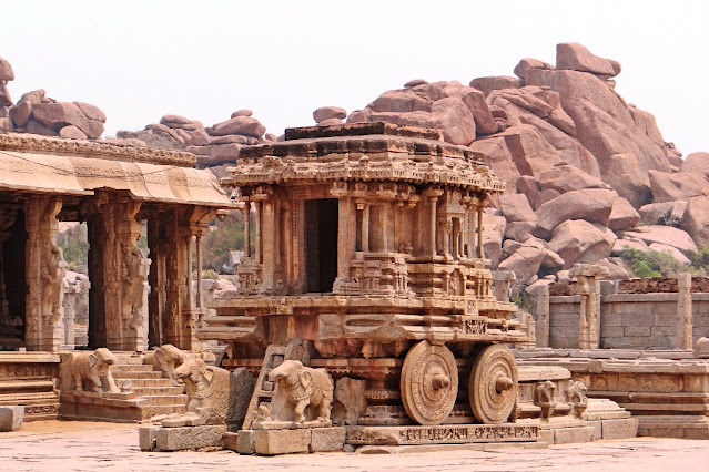 The Icon of Hampi - The Stone Chariot