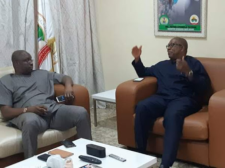Fayose Hosts Peter Obi In His Lagos Home (Photos)