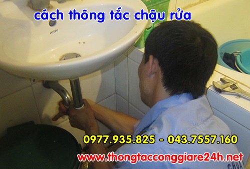 Nguyên nhân và cách khắc phục chậu rửa bị tắc nghẽn,thông cống,tắc chậu rửa,bồn cầu