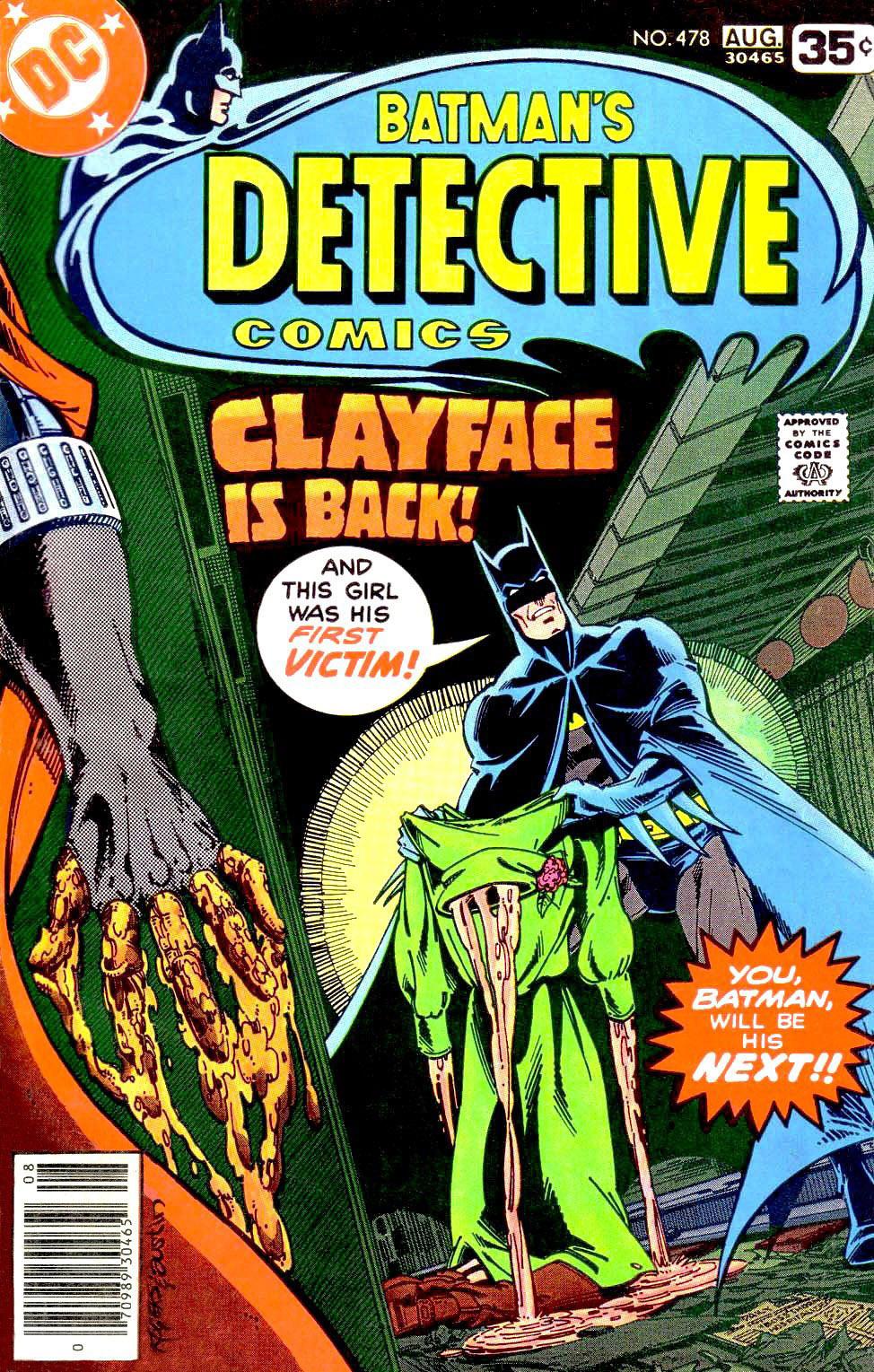 Detective Comics (1937) 478 Page 0