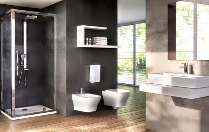 baño estilo minimalista