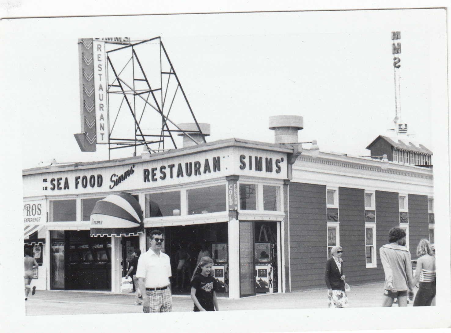 Ocean City Days Simms Restaurant 8th Street Boardwalk