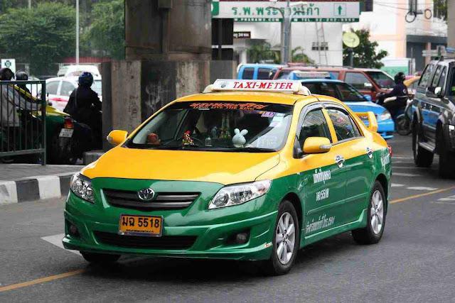 Taxi meter menuju khaosan road