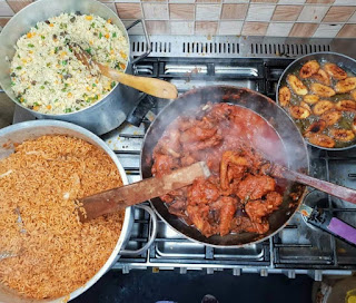 Man Flaunts What His Wife Cooked With Just N1500 Only (Photos)