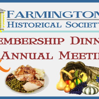 November 3rd Historical Society Hosts membership Pork Roast Dinner and Annual Meeting