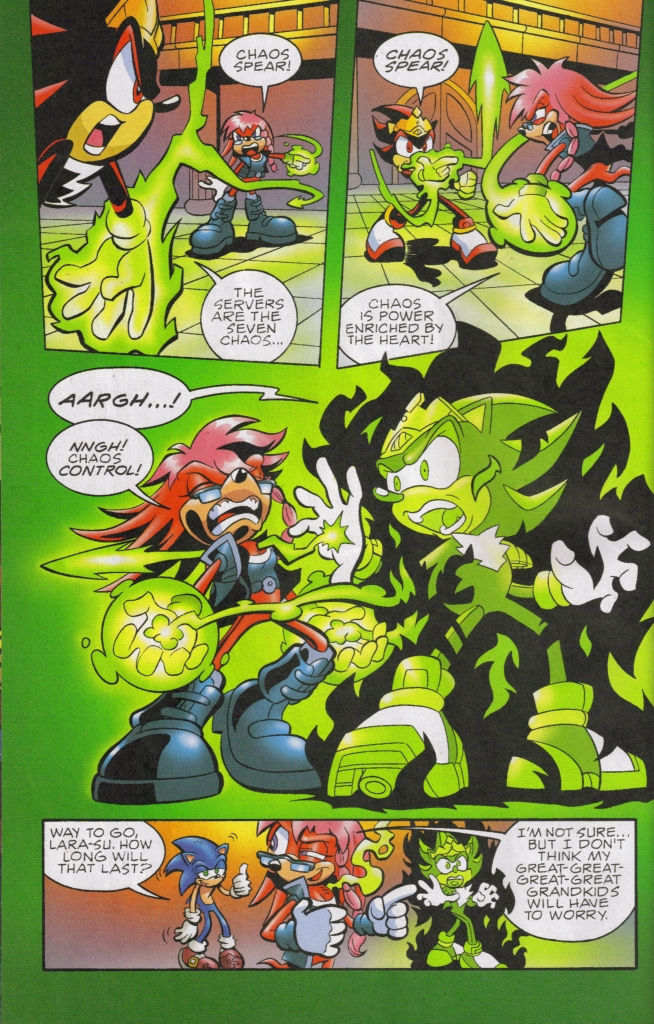 Read online Sonic The Hedgehog comic -  Issue #167 - 14