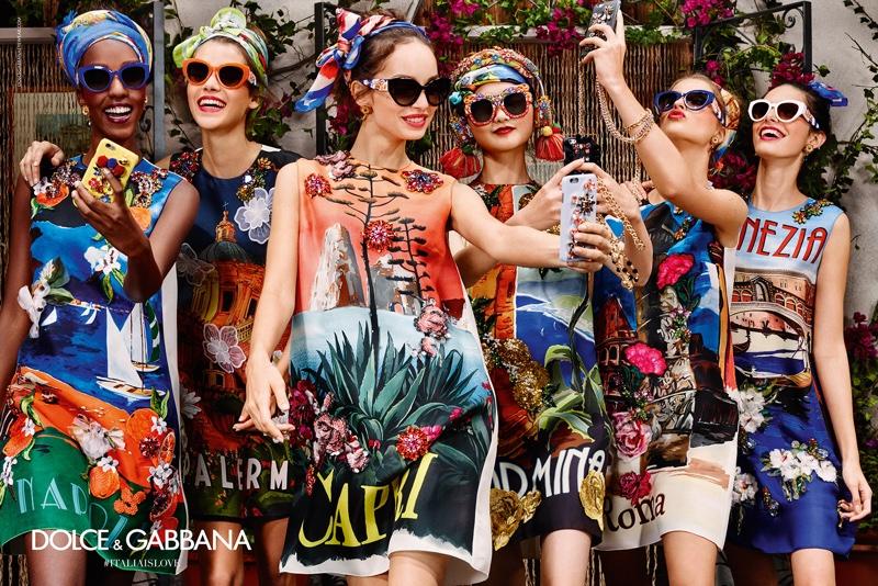 5b4f537af3 Dolce   Gabbana Spring 2016 Eyewear Campaign