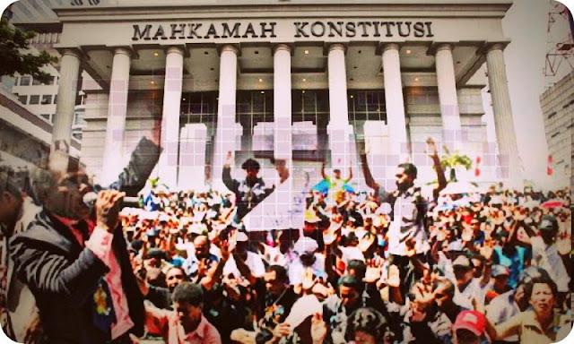Warga Dogiyai Minta Mahkamah Konstitusi Selesaikan Kasus Hilang Berkas