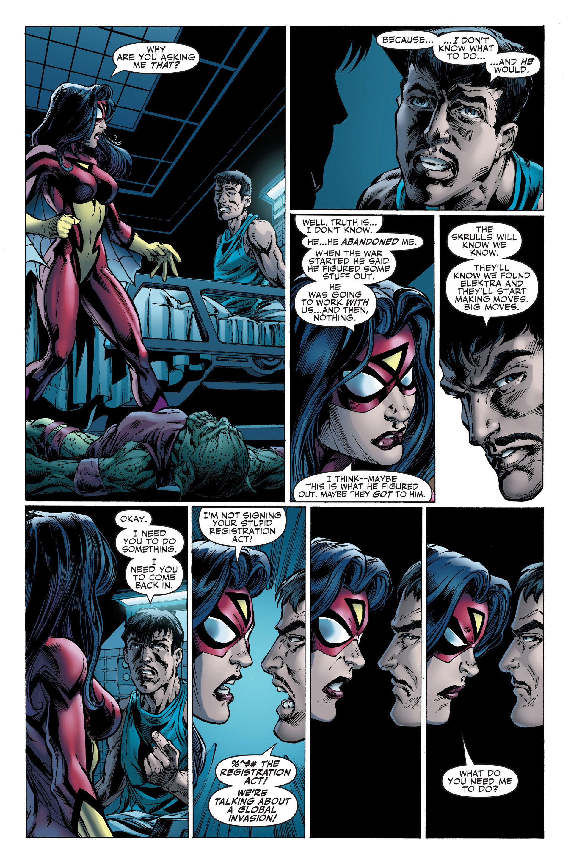 Read online Secret Invasion: The Infiltration comic -  Issue #1 - 7