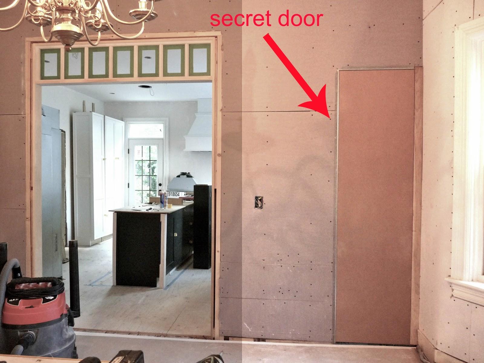 Hidden closets