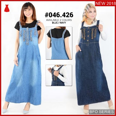 BFO243B43 GAMIS Model JUMPSUIT JEANS Jaman Now 046 BMGShop