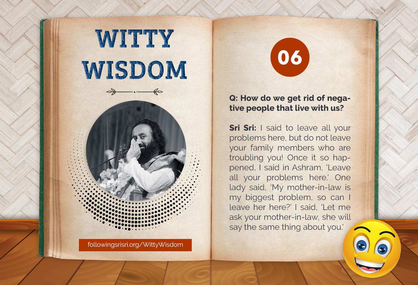 Negative People | Witty Wisdom