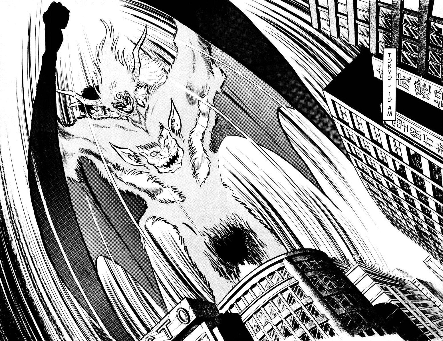 DevilMan chapter 16 trang 9