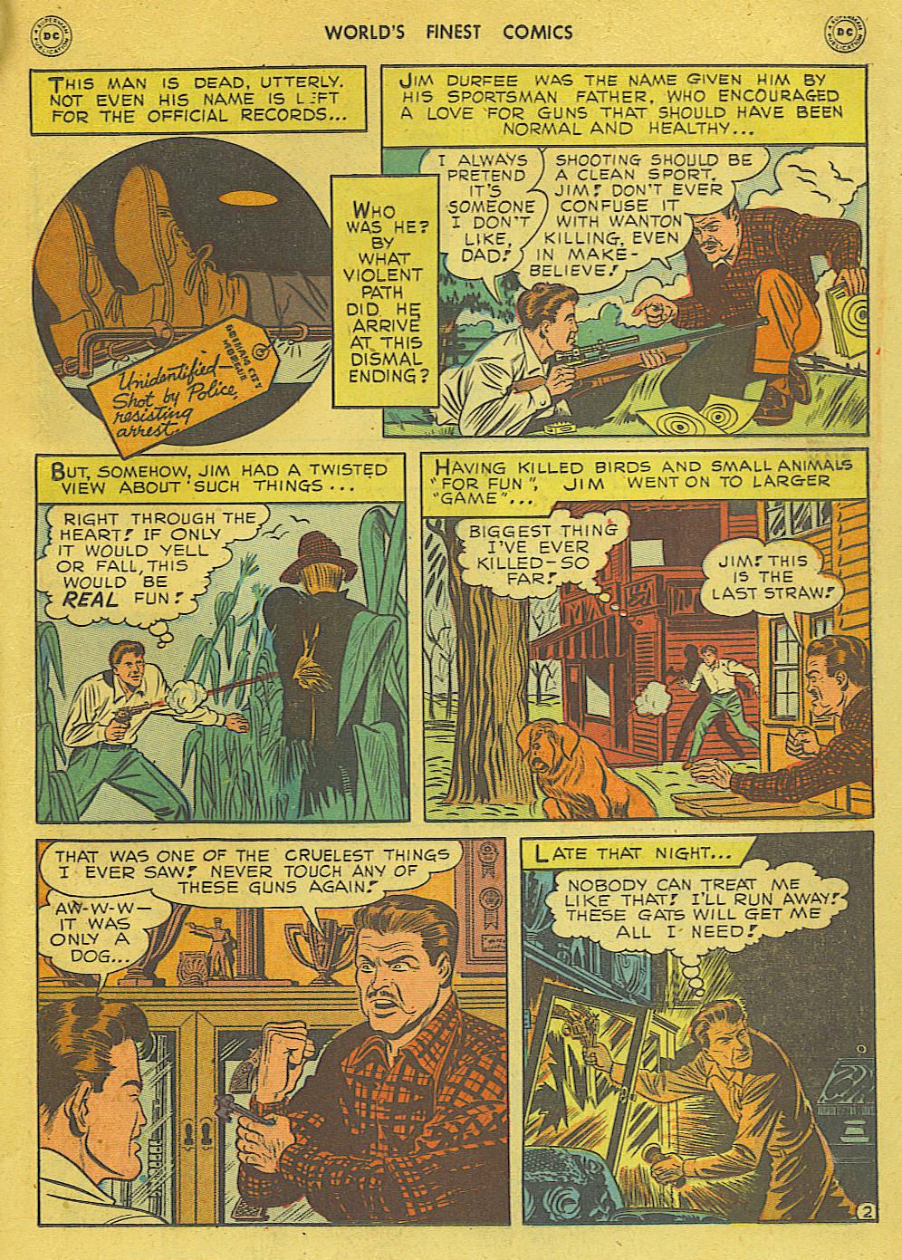 Read online World's Finest Comics comic -  Issue #34 - 63