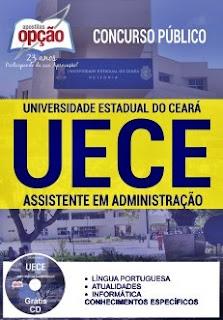 Apostila Concurso UECE 2016