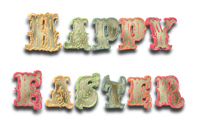 words,text,happy easter,png,tube,vintage,pascuas