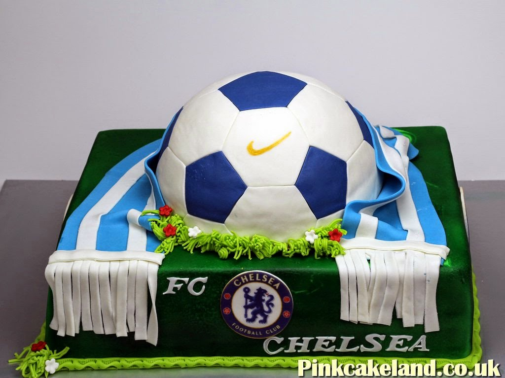 Chelsea FC Birthday Cake, London