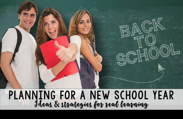 Get ready for back to school: ideas and strategies for planning your best year yet!