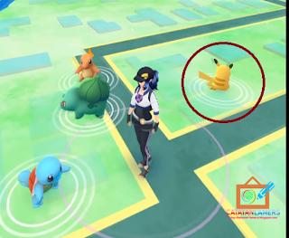 Cara Mendapatkan Pikachu dalam Game Pokemon Go